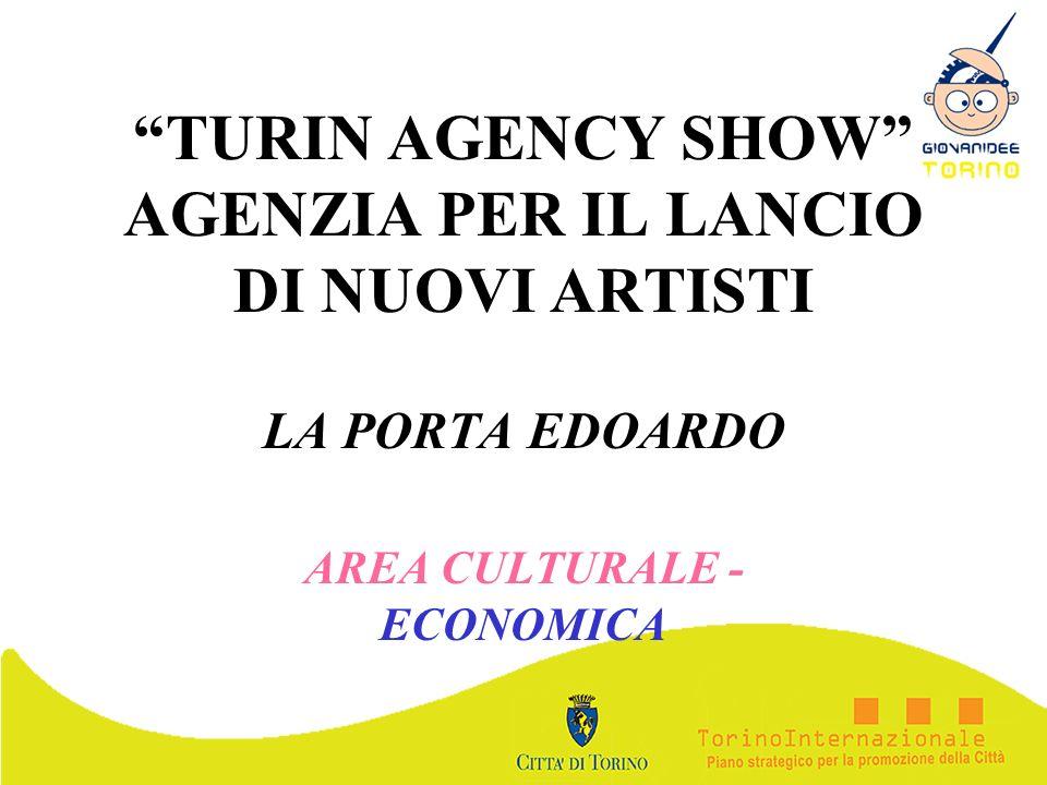 TURIN AGENCY SHOW AGENZIA PER IL LANCIO DI NUOVI ARTISTI