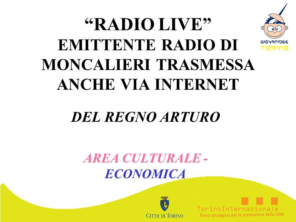 DEL REGNO ARTURO AREA CULTURALE - ECONOMICA