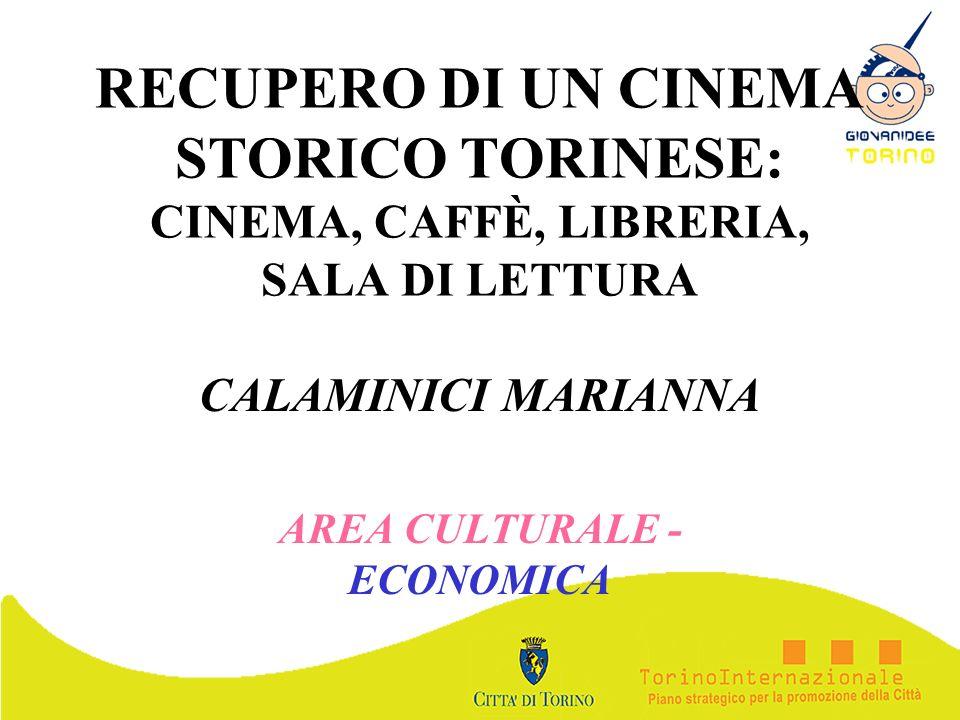 CALAMINICI MARIANNA AREA CULTURALE - ECONOMICA