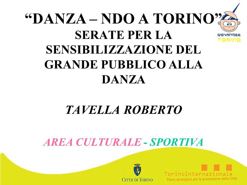 TAVELLA ROBERTO AREA CULTURALE - SPORTIVA