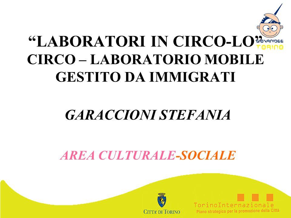 GARACCIONI STEFANIA AREA CULTURALE-SOCIALE