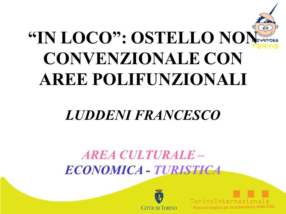 IN LOCO : OSTELLO NON CONVENZIONALE CON AREE POLIFUNZIONALI