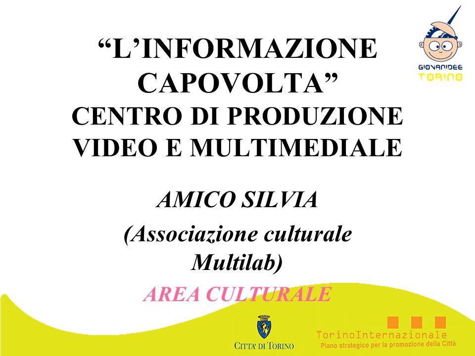 L'INFORMAZIONE CAPOVOLTA CENTRO DI PRODUZIONE VIDEO E MULTIMEDIALE