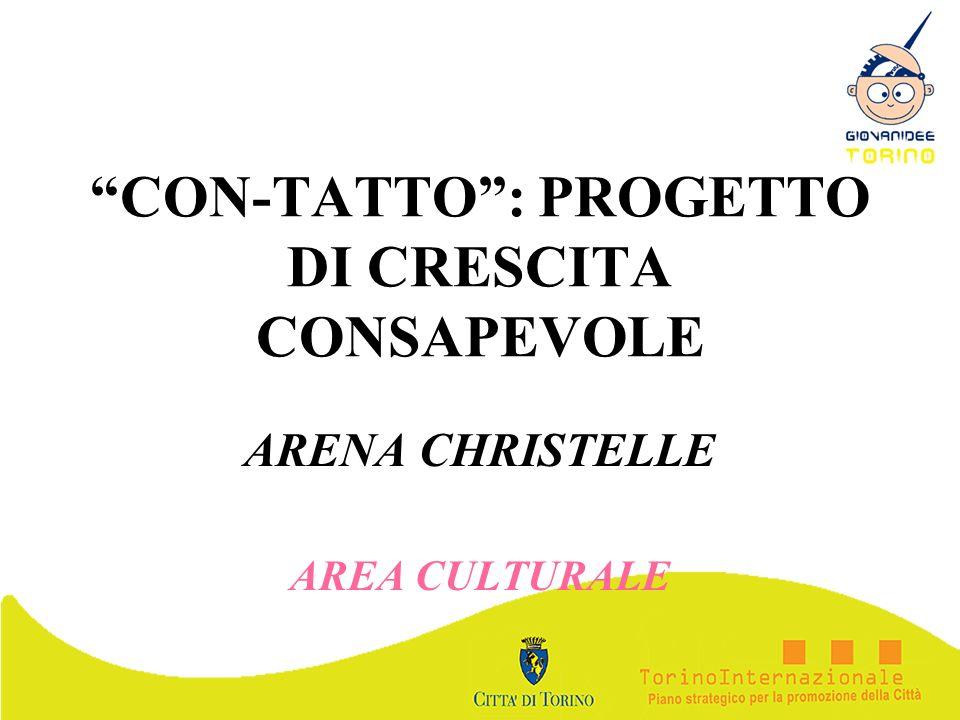 CON-TATTO : PROGETTO DI CRESCITA CONSAPEVOLE