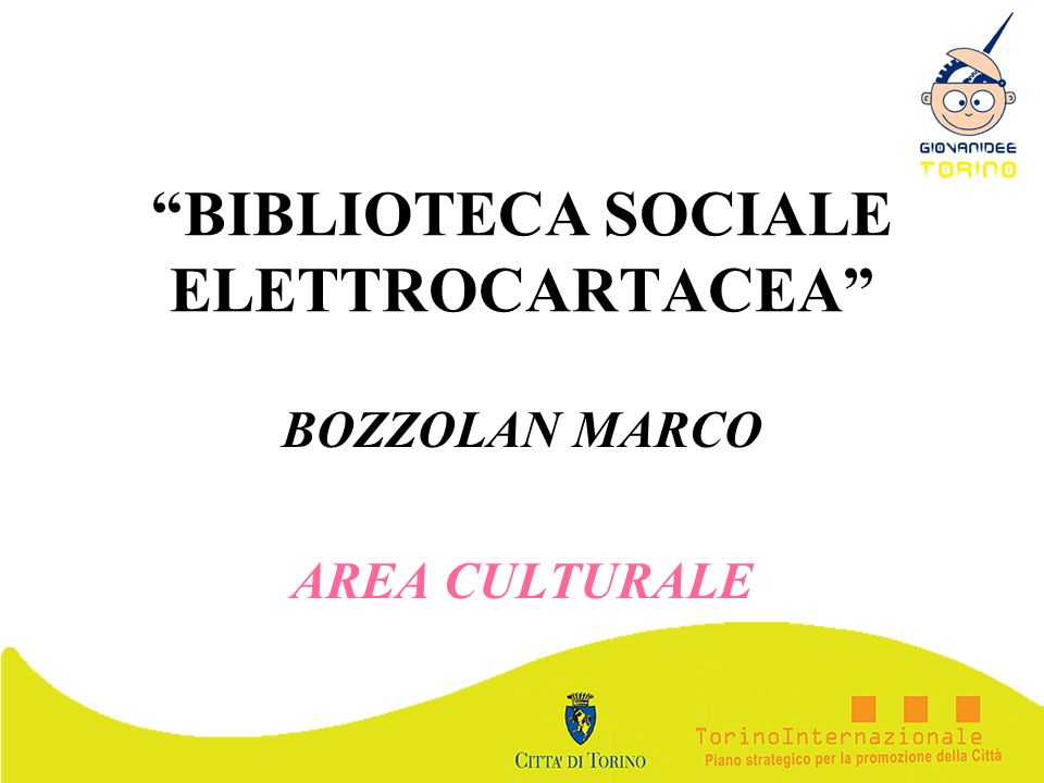 BIBLIOTECA SOCIALE ELETTROCARTACEA