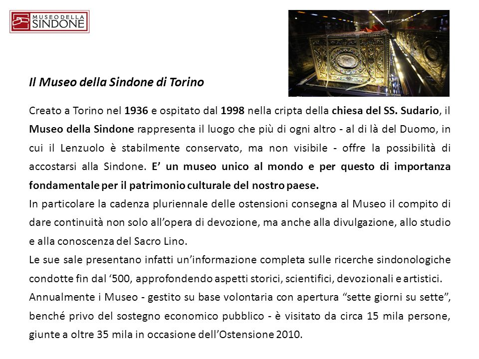 Il Museo della Sindone di Torino