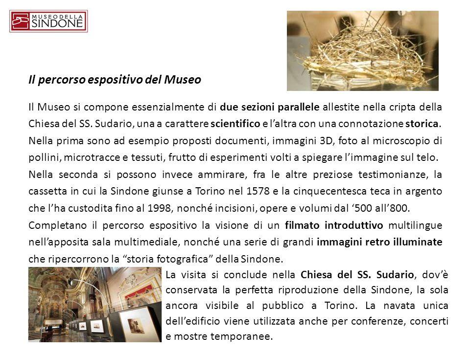 Il percorso espositivo del Museo