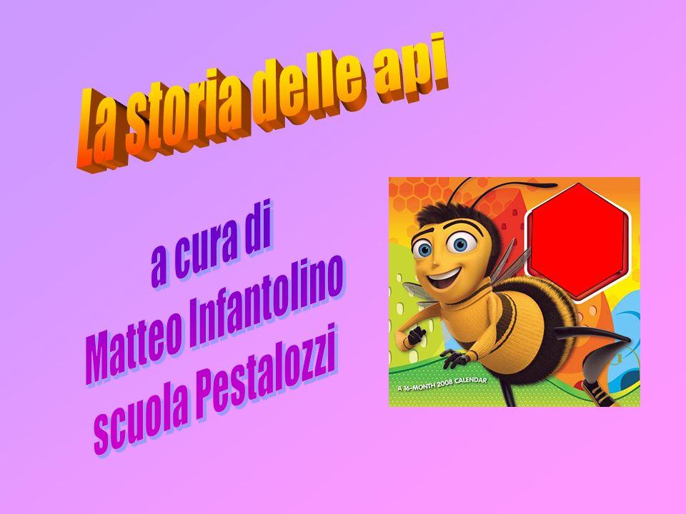 La storia delle api a cura di Matteo Infantolino scuola Pestalozzi