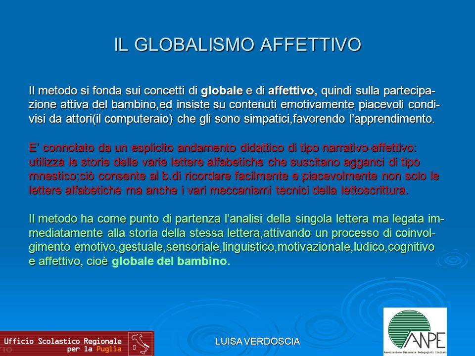 IL GLOBALISMO AFFETTIVO