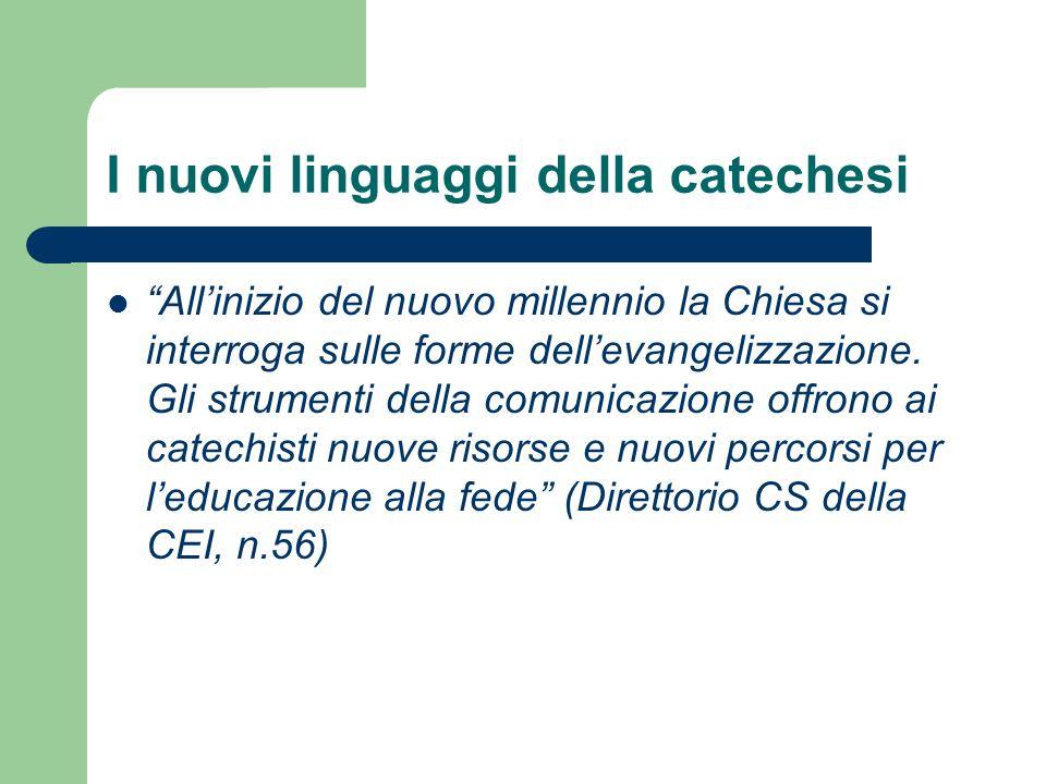 I nuovi linguaggi della catechesi
