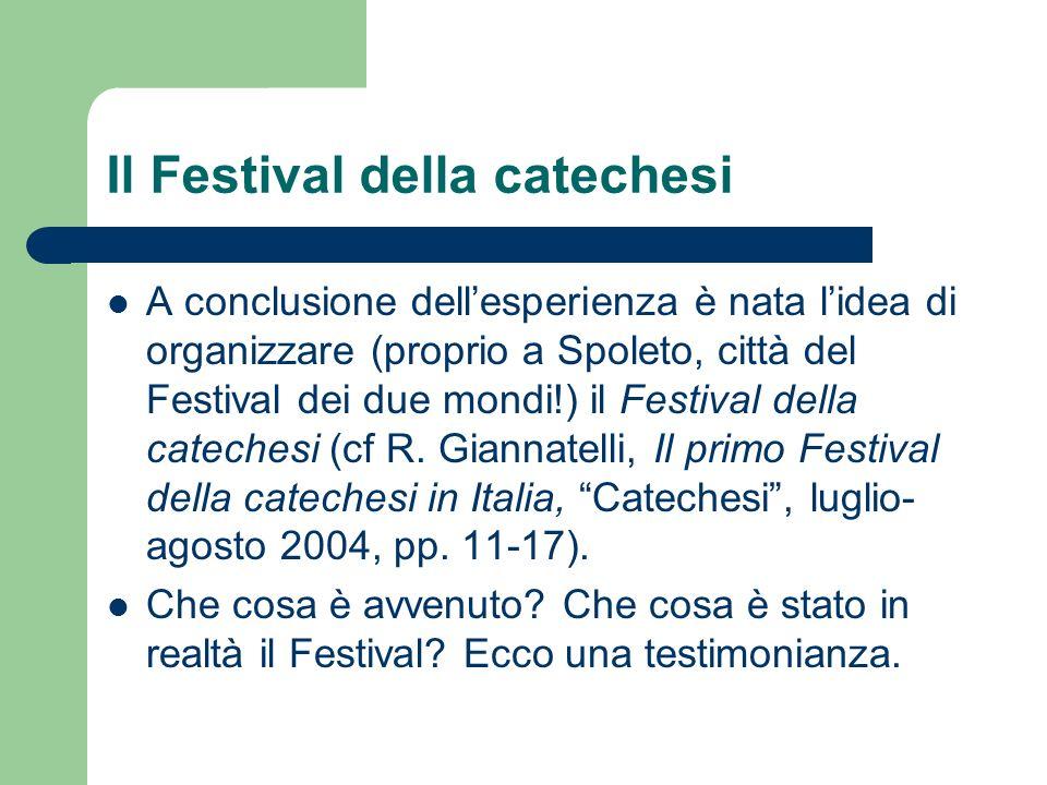 Il Festival della catechesi