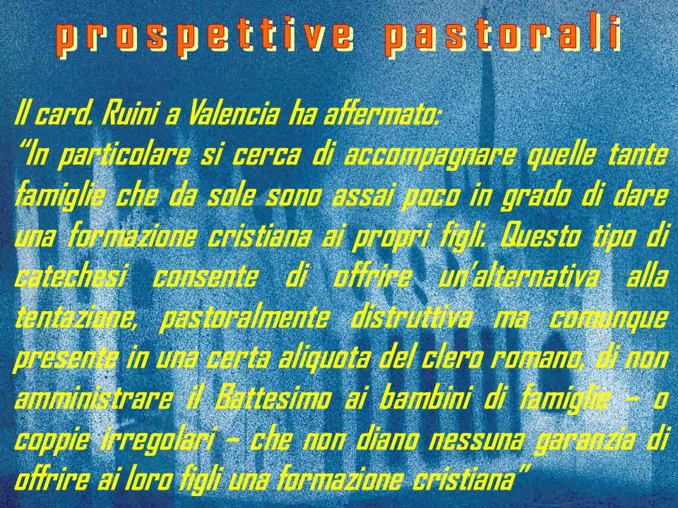 prospettive pastorali