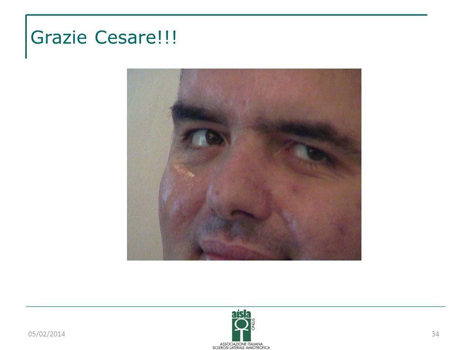 Grazie Cesare!!! 27/03/2017