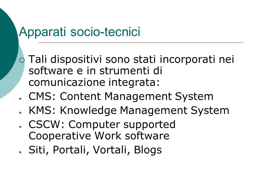 Apparati socio-tecnici