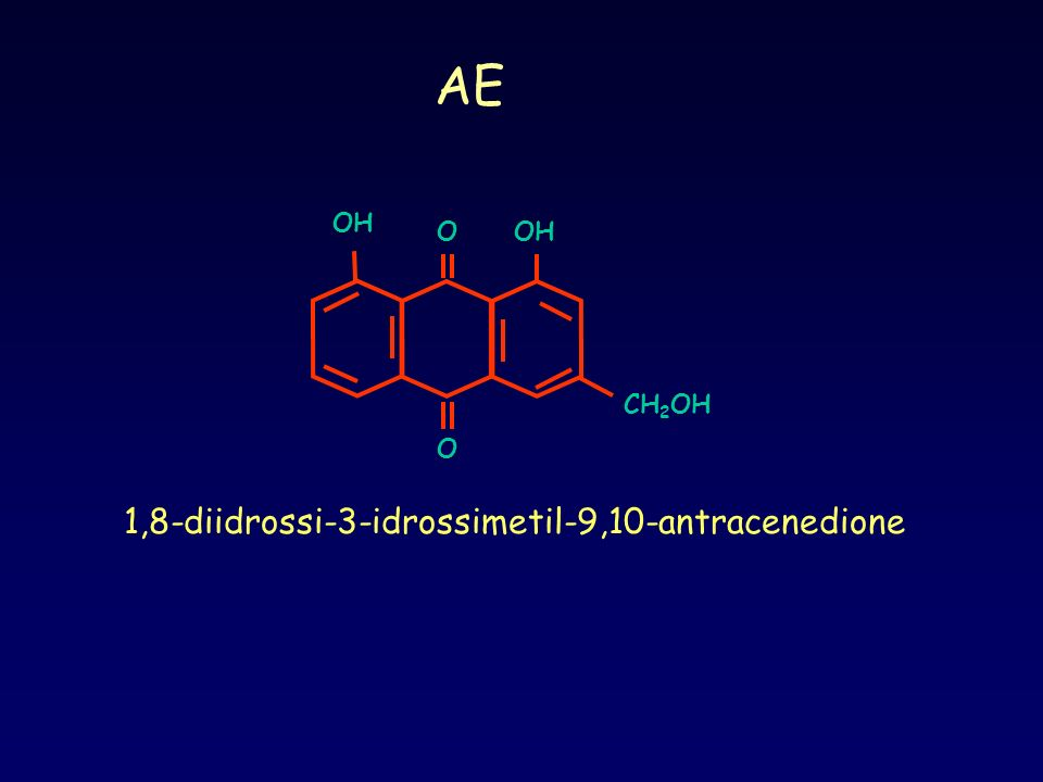 1,8-diidrossi-3-idrossimetil-9,10-antracenedione