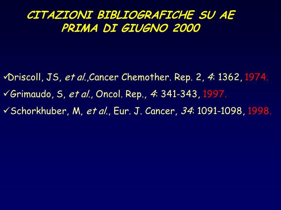 CITAZIONI BIBLIOGRAFICHE SU AE PRIMA DI GIUGNO 2000