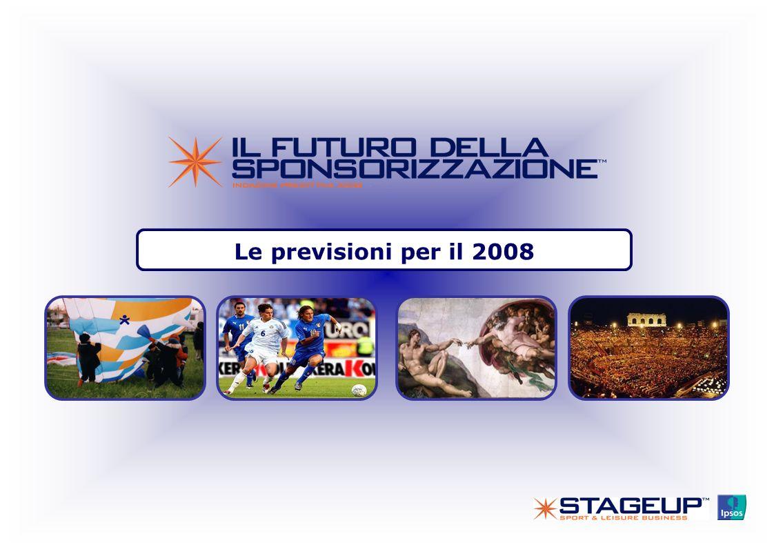 Le previsioni per il 2008