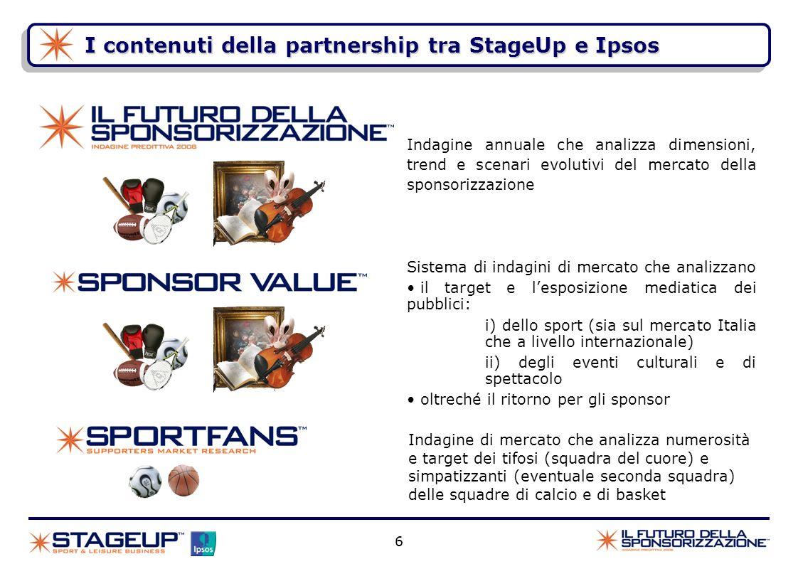 I contenuti della partnership tra StageUp e Ipsos