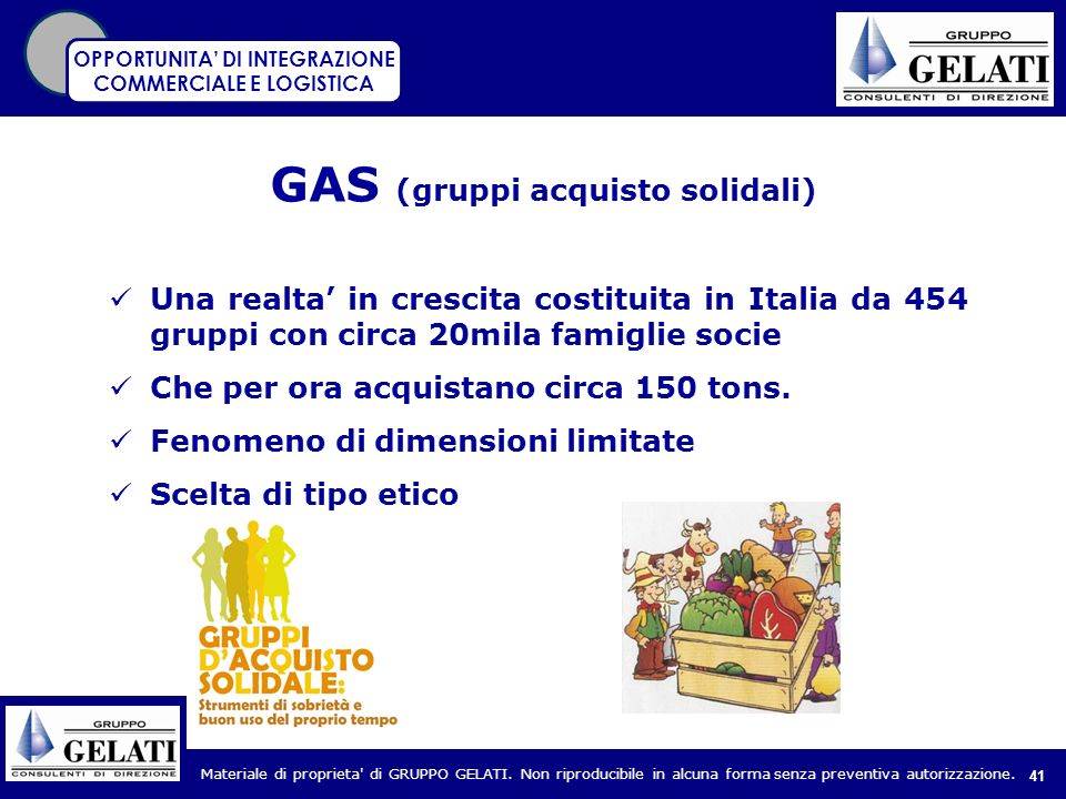 GAS (gruppi acquisto solidali)