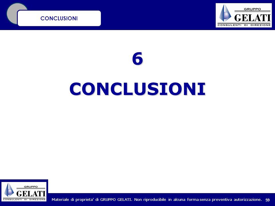 CONCLUSIONI 6 CONCLUSIONI