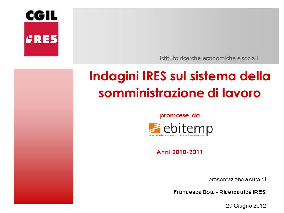 istituto ricerche economiche e sociali