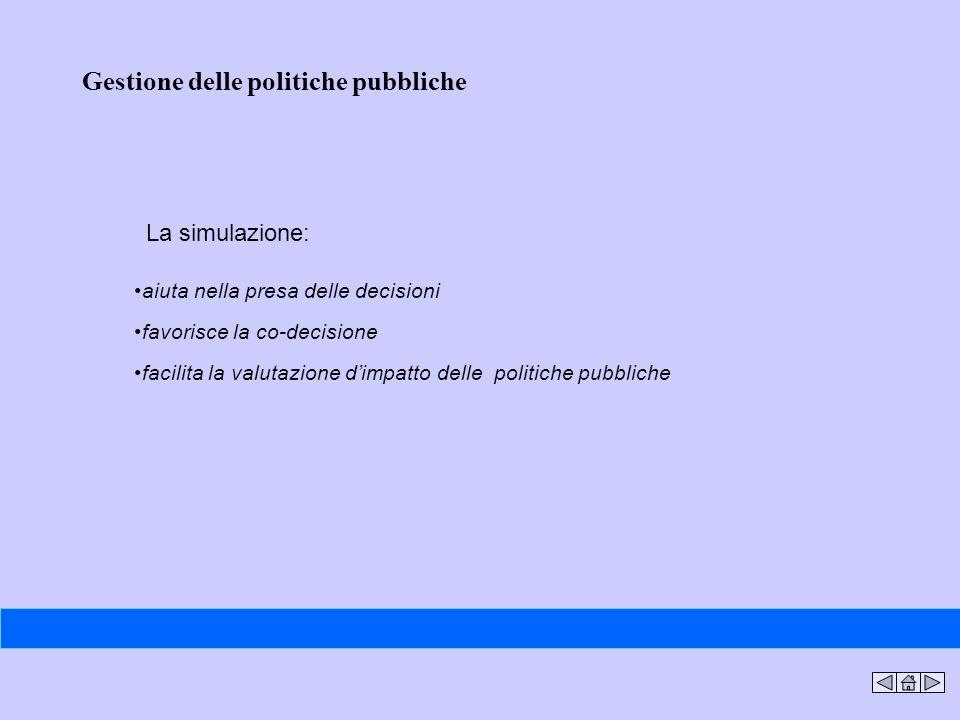 Gestione delle politiche pubbliche