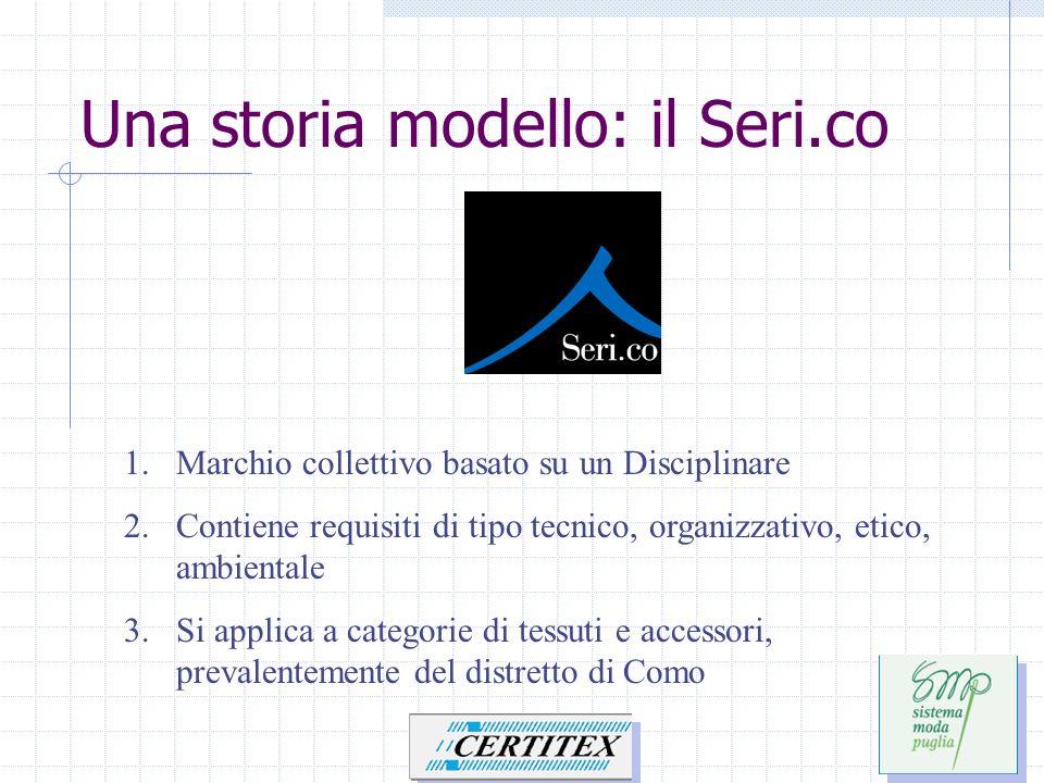 Una storia modello: il Seri.co