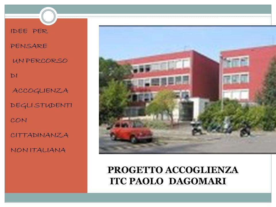 PROGETTO ACCOGLIENZA ITC PAOLO DAGOMARI