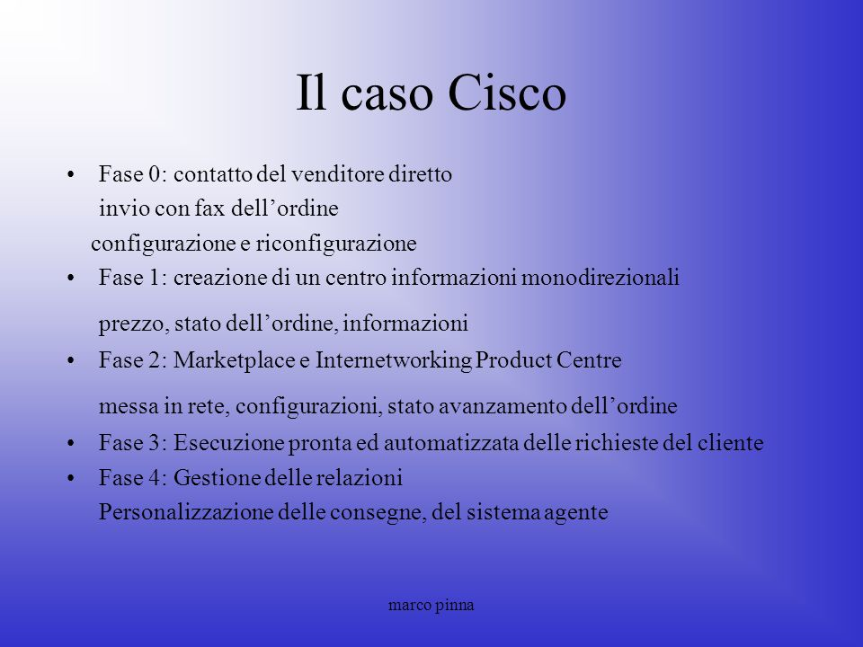 Il caso Cisco prezzo, stato dell'ordine, informazioni