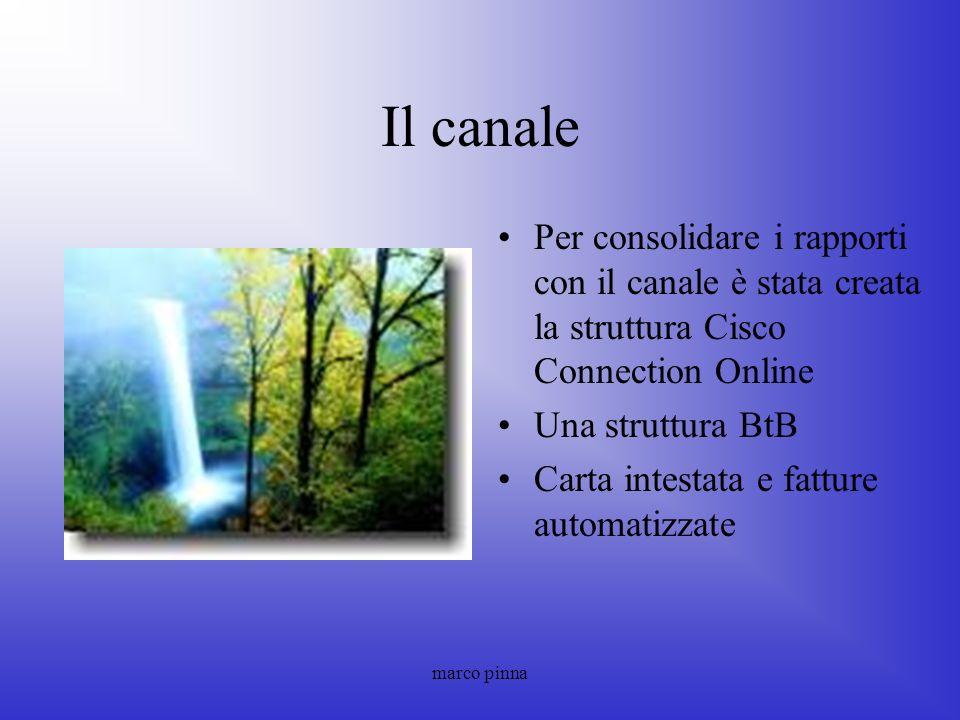 Il canale Per consolidare i rapporti con il canale è stata creata la struttura Cisco Connection Online.