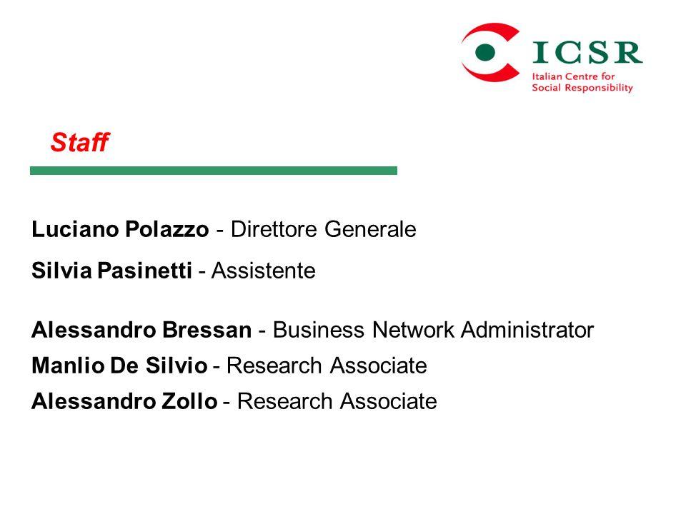 Staff Luciano Polazzo - Direttore Generale