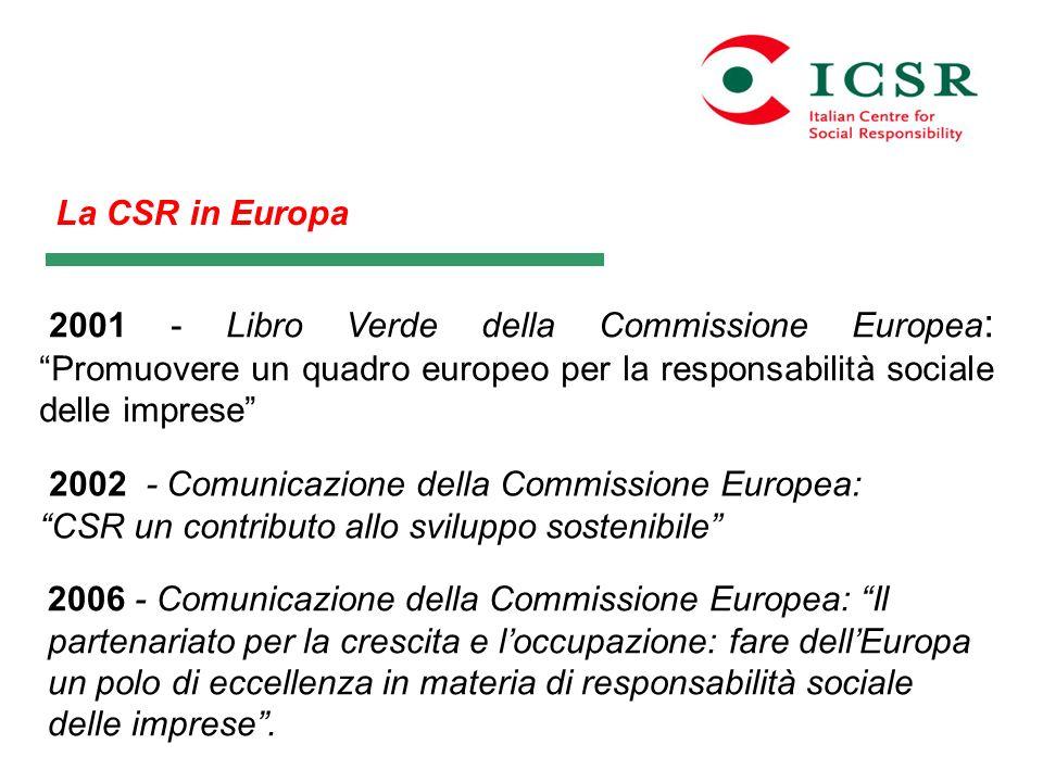 2002 - Comunicazione della Commissione Europea: