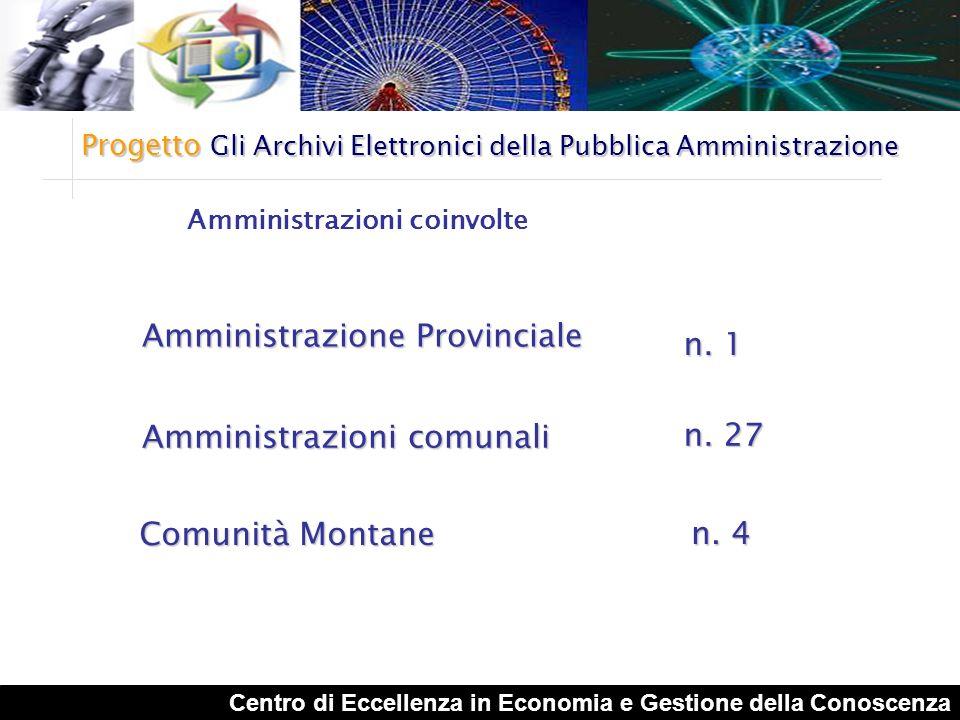 Amministrazione Provinciale n. 1