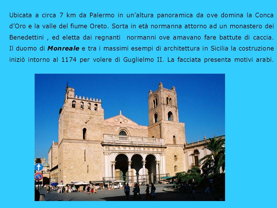 Ubicata a circa 7 km da Palermo in un'altura panoramica da ove domina la Conca d'Oro e la valle del fiume Oreto.