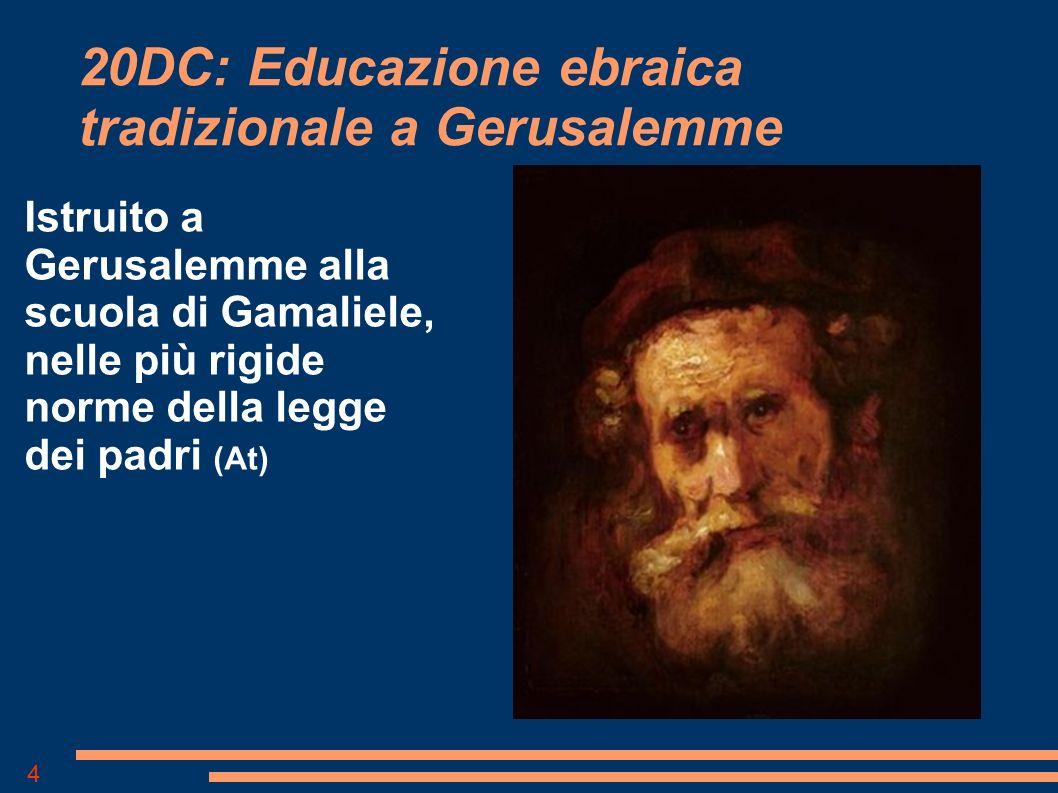20DC: Educazione ebraica tradizionale a Gerusalemme