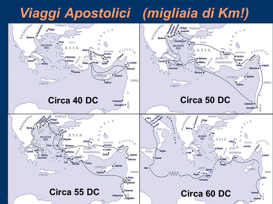Viaggi Apostolici (migliaia di Km!)