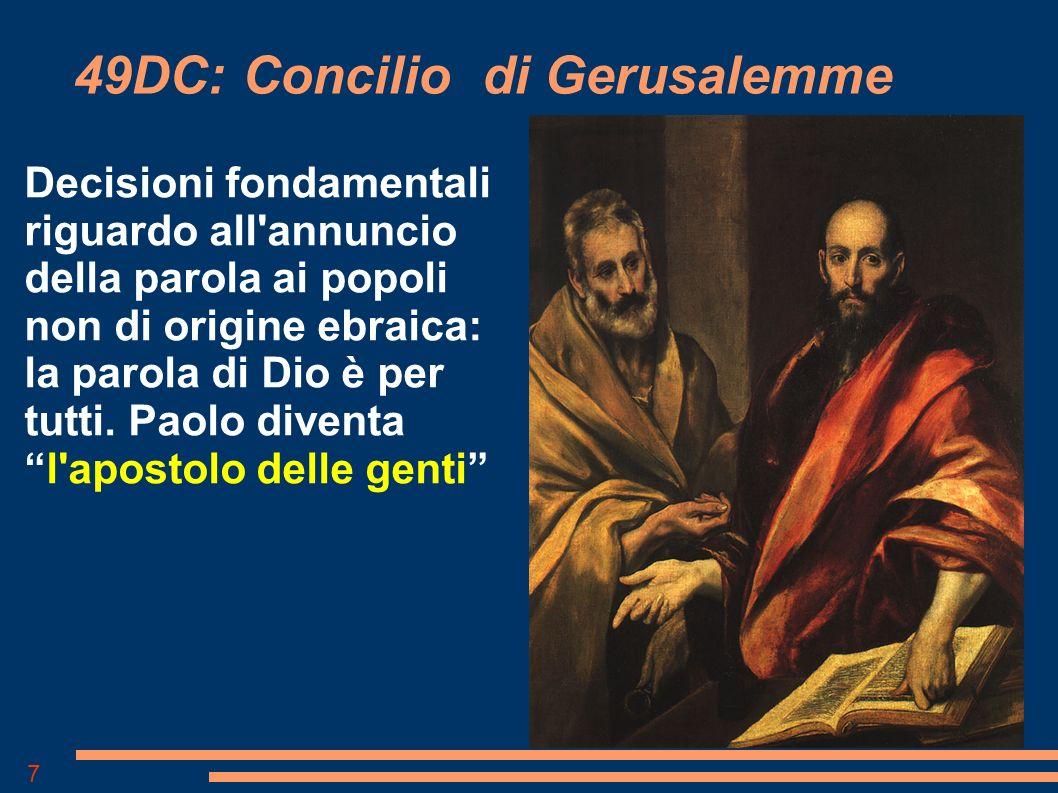 49DC: Concilio di Gerusalemme