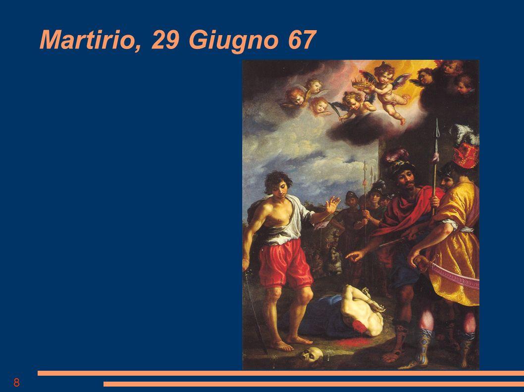 Martirio, 29 Giugno 67 Francesco Curradi, 1627, Cappella Inghirami, Firenze