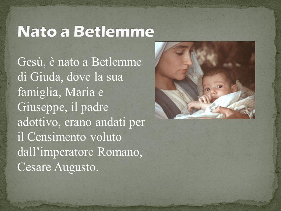 Nato a Betlemme