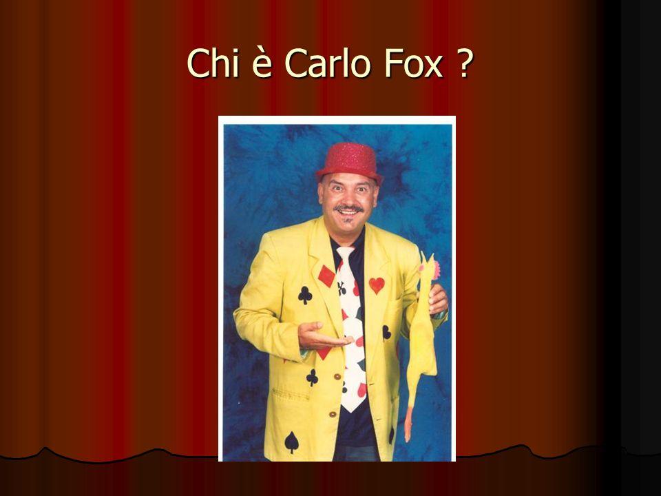 Chi è Carlo Fox