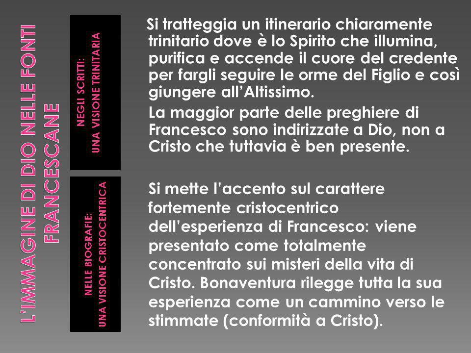 L'IMMAGINE DI DIO NELLE FONTI FRANCESCANE