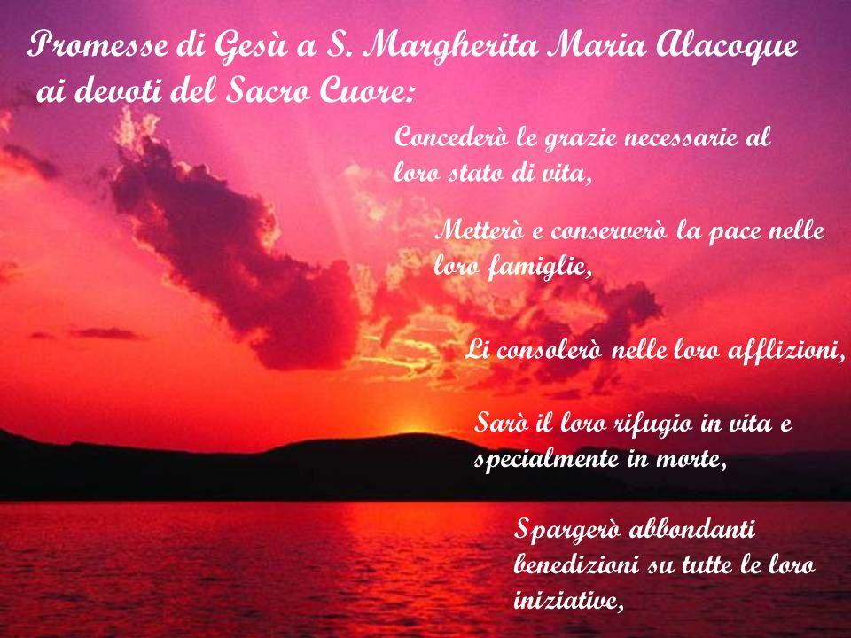 Promesse di Gesù a S. Margherita Maria Alacoque