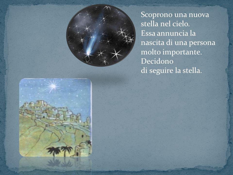 Scoprono una nuova stella nel cielo.