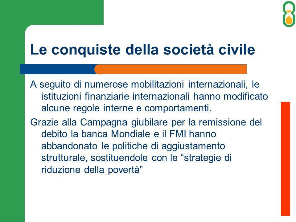 Le conquiste della società civile