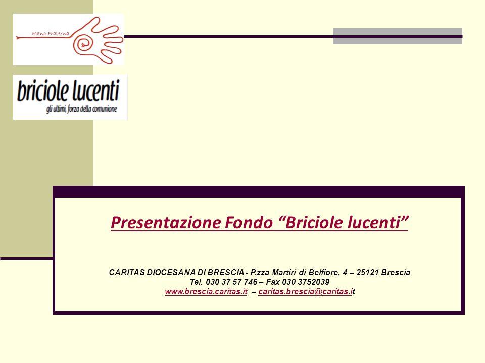 Presentazione Fondo Briciole lucenti