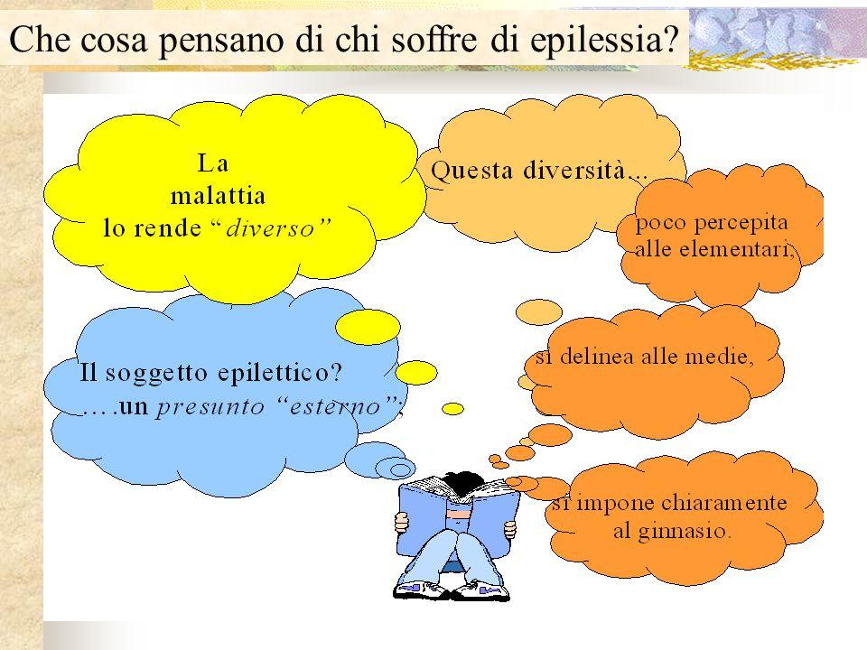 Che cosa pensano di chi soffre di epilessia