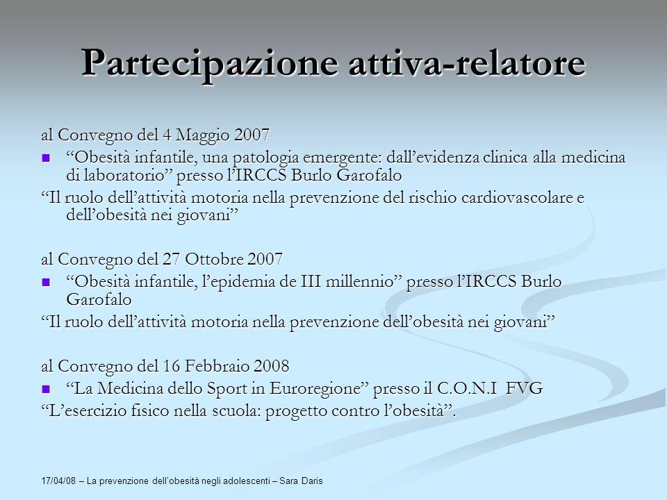 Partecipazione attiva-relatore