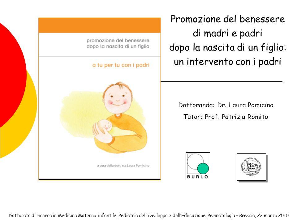 Promozione del benessere di madri e padri