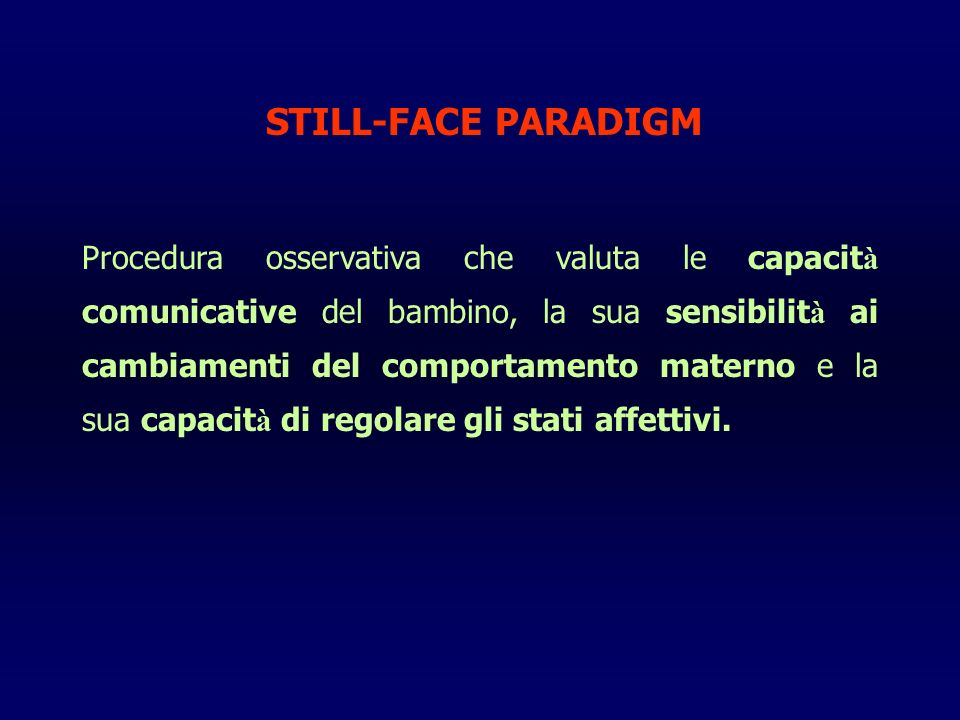 STILL-FACE PARADIGM