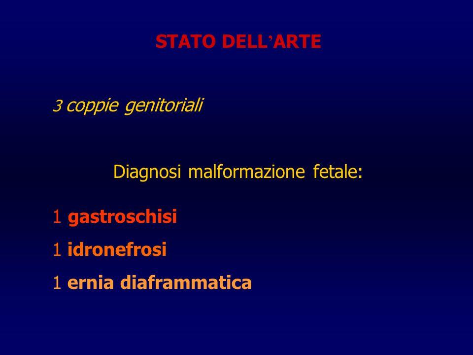 Diagnosi malformazione fetale:
